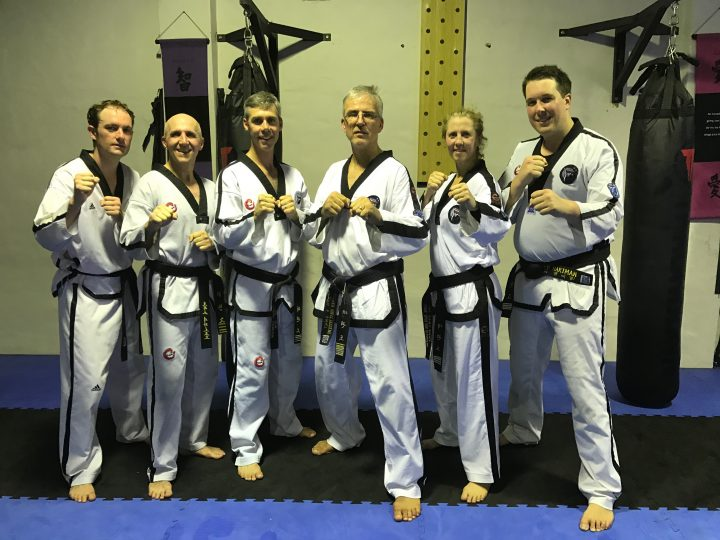 Examination Panel for Taekwondo Classes